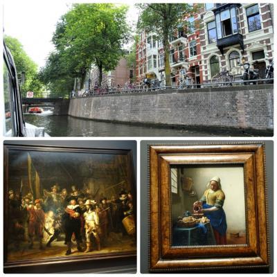 オランダ、ベルギー、ルクセンブルクとおまけのドイツ8日間 VOL.7「アムステルダム国立美術館鑑賞と運河クルーズ」