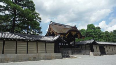京都をお散歩(台風21号の翌日)。