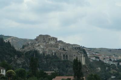 美しき南イタリア旅行♪ Vol.198(第7日)☆Civita→Oriolo:美しき村「オリオーロ」美しい遠景♪
