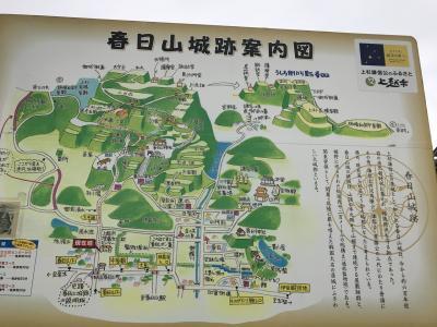 新潟県の城跡巡り:春日山城跡、広大な領域