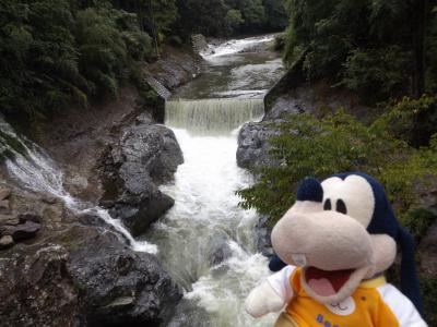 グーちゃん、雨の耶馬溪へ行く!(激流!ド迫力の猿飛千壺峡!編)