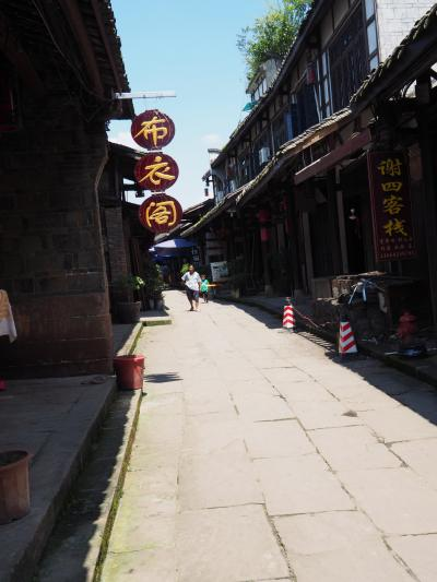 中国火車紀行 -黄龍渓に古鎮を訪ねて-