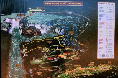 南米2カ国 イグアスの滝 2