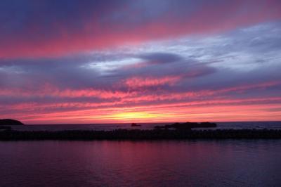2018.09 ワープ三昧東北18切符旅行(7)リゾートしらかみ6号・日本海に沈む夕陽眺めて五能線