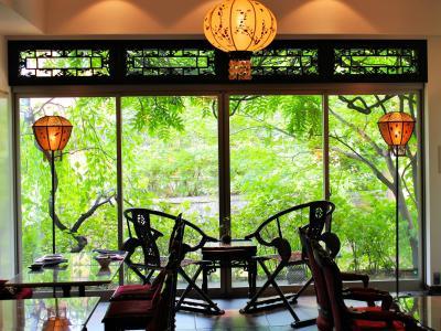 えっ、京都に世界一のホテルがあるの?ホテルアワード2018(小規模部門)で世界一に輝いたホテル「Mume」の感動を貴方にも~吉祥菓寮のきな粉スイーツ~京都夏の旅より八坂の塔特別拝観&長楽館御成の間