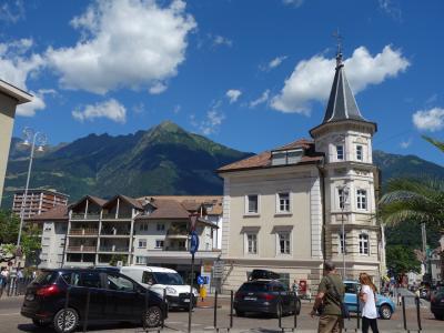 ドロミテから東スイスハイキング①(ボルツァーノ、メラーノ)