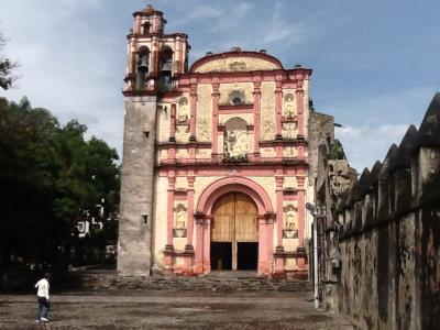 2回目のメキシコ旅行。7(クエルナバカ訪問)