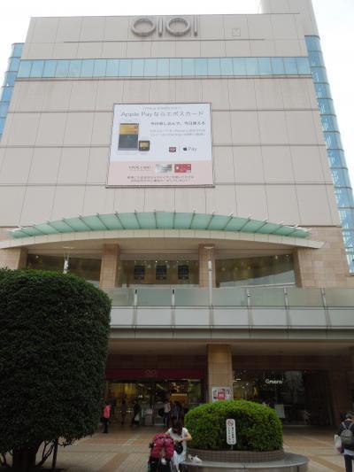 志木駅付近の風景①東出口方面