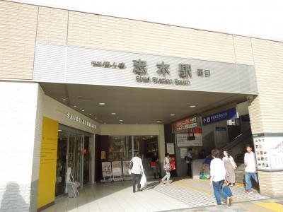 志木駅付近の風景②南口