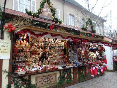 アルザス・黒い森・ライン川沿い「クリスマスマーケット巡り」の旅【5】(作成中)コルマールのクリスマスマーケット続編