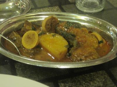 2017 初めてのコルカタに着いて、まずは地元メシのベンガル料理をいただきます!