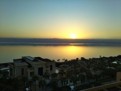 ヨルダン側死海の良コスパ5つ星リゾートでまったり☆Kempinski宿泊