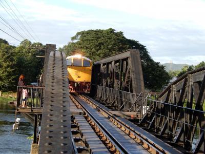 2018年の夏は泰緬鉄道を追い求めてタイへ/クワイ川鉄橋周辺をぶらぶら/その5