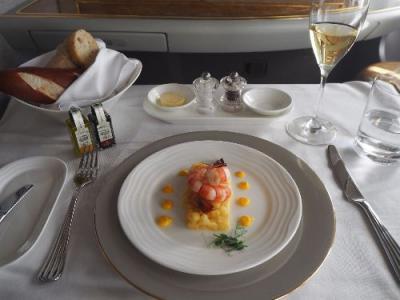 音楽とカフェの都ウィーン⑦エミレーツ航空ファーストクラス 機内食が絶品だったウィーン=ドバイ線・ファーストクラスラウンジ
