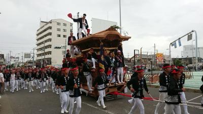 岸和田祭、だんじり