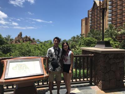 Hawaii旅行 4日目 アウラニ