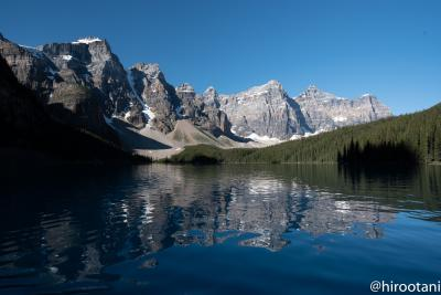 20年ぶりのカナディアンロッキー 【3】モレイン湖とヨーホー国立公園