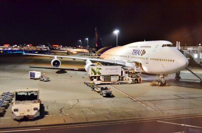 ソンクラーン直後のバンコクへ part 3 - タイ国際航空 バンコク→羽田