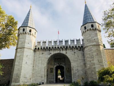 イスタンブール・トプカプ宮殿とネコ[2018年9月10月世界一周特典航空券の旅2]