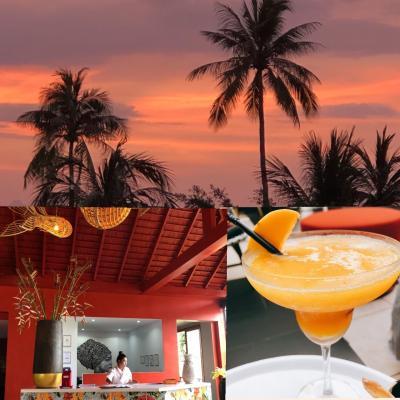 3つのホテル、二度目のサムイ ① サンセットビーチ リゾート & スパ