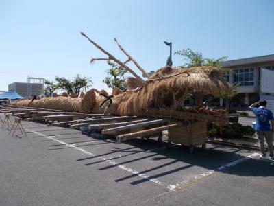 香川県荘内半島をうろちょろしました「仁尾の竜祭り」と「元祖たこ判 小前」