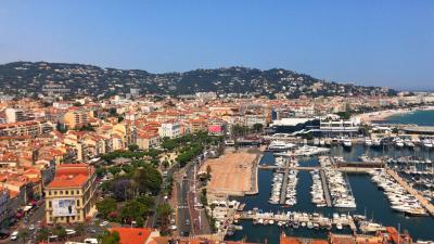 【動画】地中海を望むカンヌ街歩き!絶景と美食☆その1