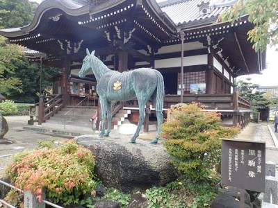 秋の奈良(9)飛鳥にある聖徳太子生誕地・橘寺(明日香村)