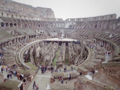 *:.゜'★Honeymoon,。.:*♪イタリア・フランス周遊[6] ~コロッセオから真実の口まで~