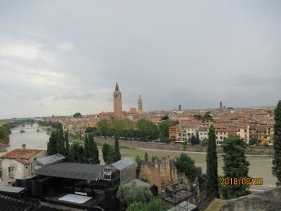 2018ヨーロッパ周遊の旅:3日目もベローナ散策