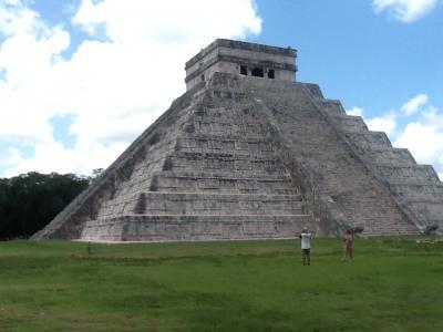 2回目のメキシコ旅行。11(チチェン遺跡の観光です。)