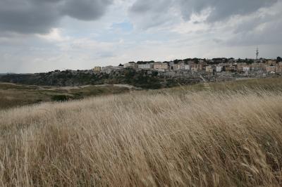 美しき南イタリア旅行♪ Vol.244(第8日)☆Matera:マテーラの代表パノラマスポット「Murgia Timone」断崖へ歩く♪