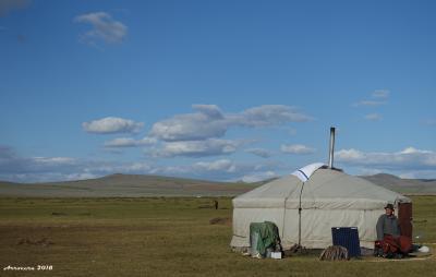 初モンゴル・初めてのゲル滞在&遊牧民模擬体験