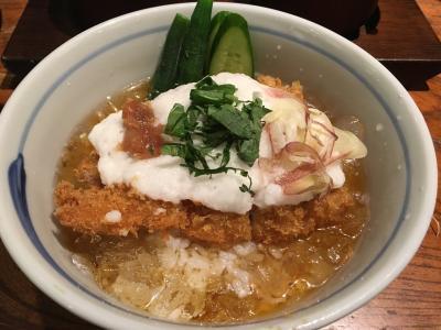 渋谷 旅猿ロケ地めぐり 冷やしかつ丼の旅