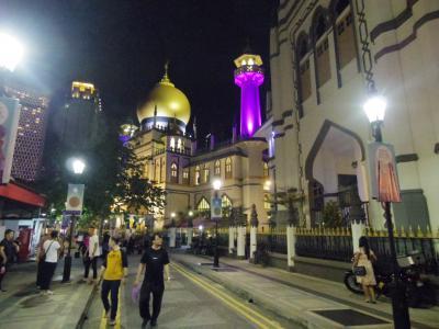 【Sparkle Singapore!】初秋のシンガポール&ハノイ[1] ~シンガポール上陸!幕開けはアラブストリート~