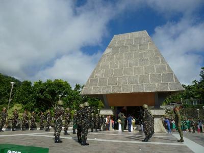 北ルソン島観光 福山歩兵141連隊の足跡を訪ねて 2日目 キアンガン 戦勝記念日