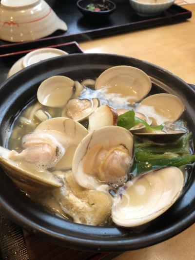 はまぐり食べたい!ただそれだけで桑名に行きました。