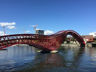 アムステルダムの公共建築とデザイン・ポスター