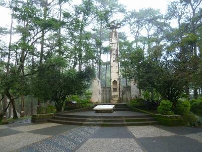 北ルソン島 福山歩兵141連隊の足跡を訪ねて 4日目 バギオ平和の塔