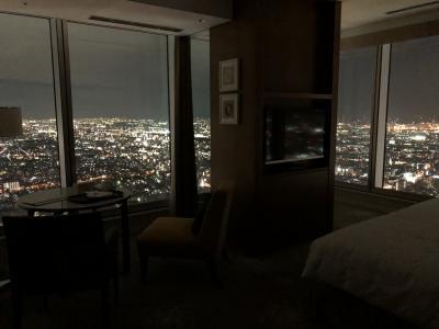 大阪2大阪マリオット都ホテル 54階コーナースイート宿泊①