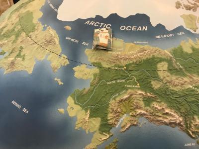 阿吽ちゃん北極圏へ行く