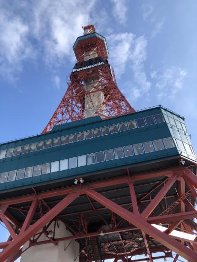 シニア3人組の1泊2日の食べ歩き in 札幌