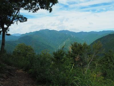 秋の気配を感じて 高水三山日帰り登山