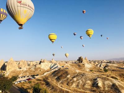 カッパドキアで気球ツアー、そしてネコだらけ[2018年9月10月世界一周特典航空券の旅8]