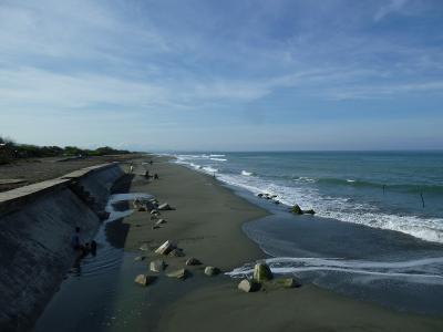 北ルソン島 福山歩兵141連隊の足跡を訪ねて 5日目 ビガン海岸