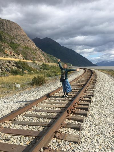 アラスカ、アンカレッジ (1)えっ!、まさかの野生のクマと遭遇!山神様にも会ってしまった、、