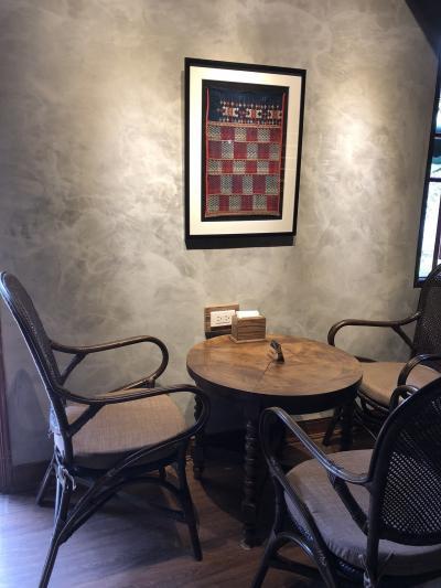 孔子廟の敷地内にあるコーヒーショップ