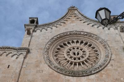 美しき南イタリア旅行♪ Vol.253(第8日)☆Ostuni:黄昏の美しい「オストゥーニ大聖堂」♪