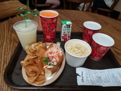 2018年子供と一緒にWDW・ユニバーサルオーランド ダイニングプランで食べたものNO2