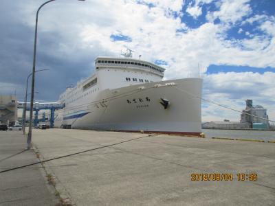 北海道 秋のドライブ旅・P2.新日本海フエリーに乗船