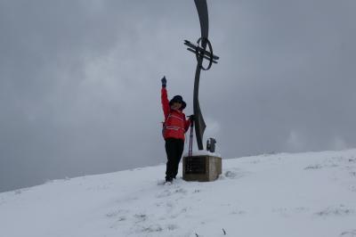2018年 チロル・ドロミテ(ドイツ・オーストリア・イタリア)ハイキングの旅 7-SCHLIK2000 雪のNiedererBurgstall 登頂